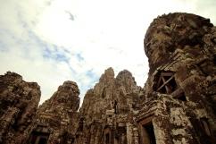Bayon Temple Heads, Siem Reap