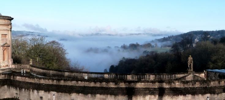 Fog Over Bath, Bath