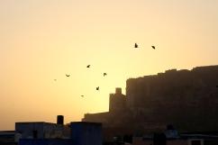 Sunset, Jodhpur