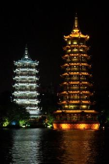 Sun & Moon Tower, Guilin