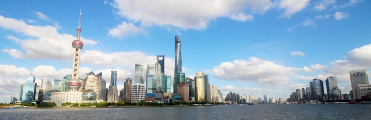 Shangahi Skyline, Shanghai